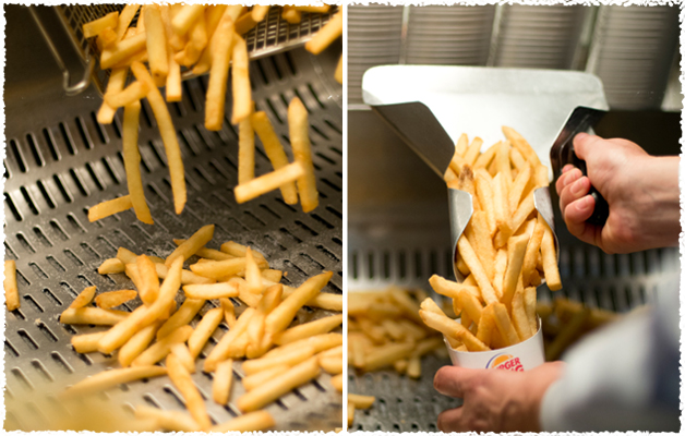 GOLDEN-YELLOW, CRISPY & Fries