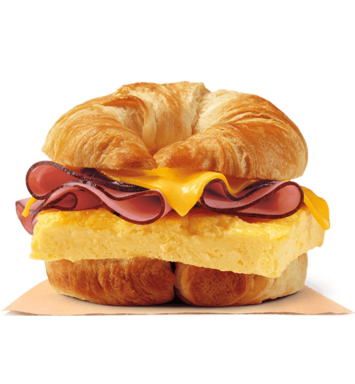 Ham, Egg & Cheese CROISSAN'WICH®
