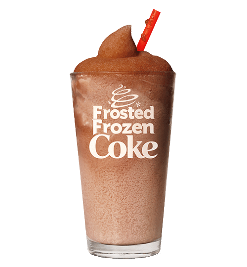 Frosted Frozen Coke