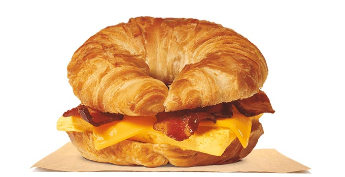 Bacon, Egg & Cheese CROISSAN'WICH®