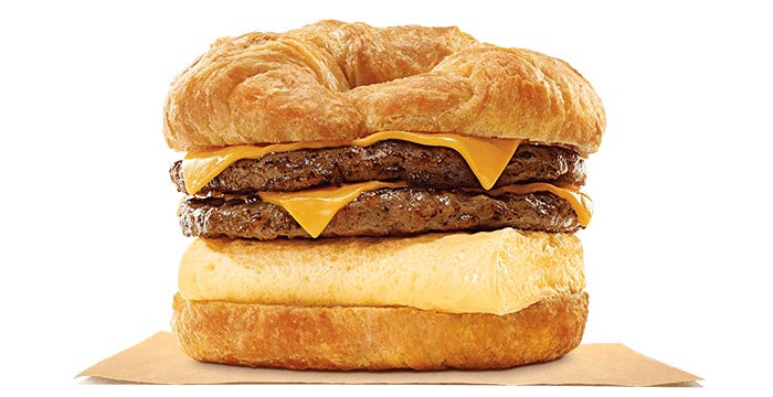 King CROISSAN'WICH® with Double Sausage