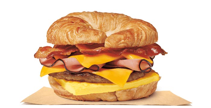 Fully Loaded CROISSAN'WICH®