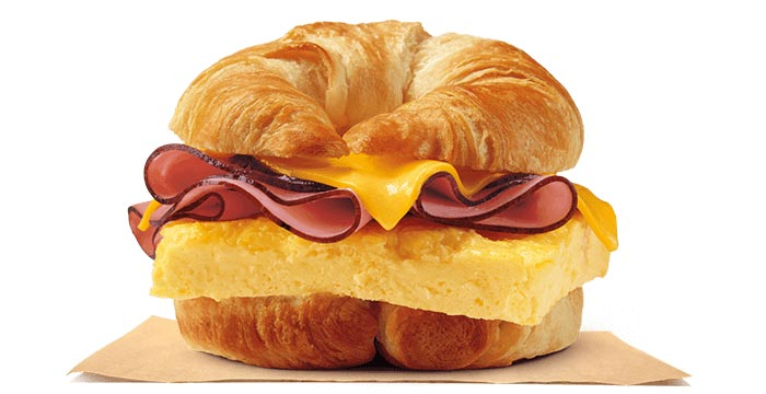 Ham, Egg & Cheese CROISSAN'WICH®