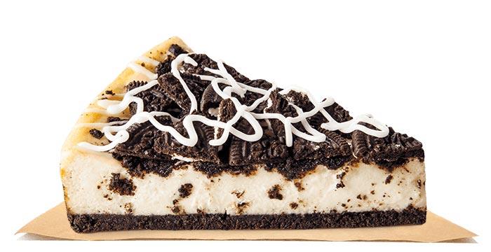 Burger King Oreo Cheesecake