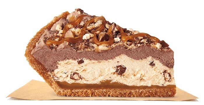 Pie made with Twix
