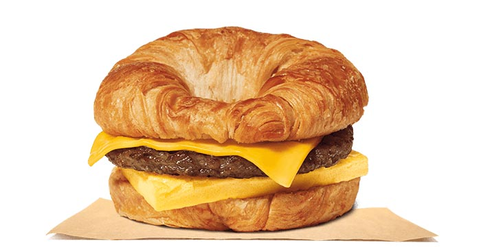 Sausage, Egg & Cheese CROISSAN'WICH®