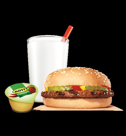 Hamburger KING JR™ Meal