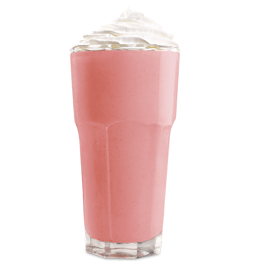 Strawberry Hand Spun Shake