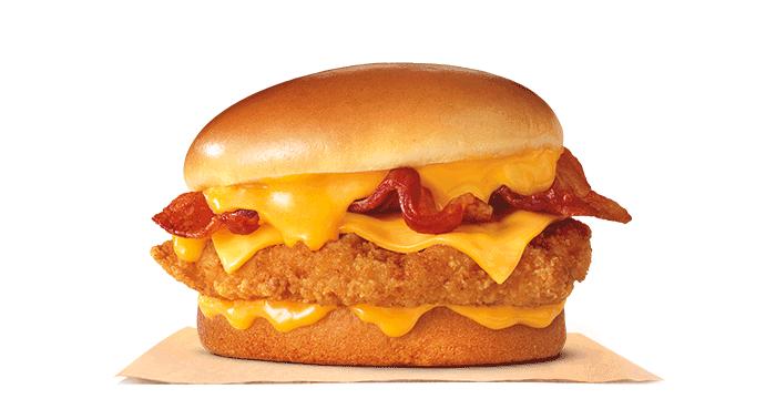 Cheesy Bacon Crispy Chicken