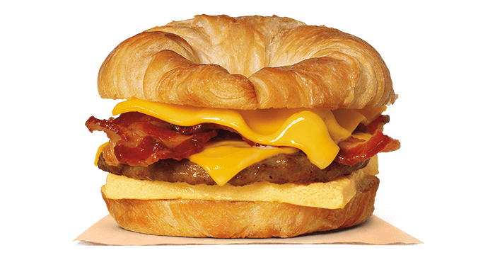 Double CROISSAN'WICH® with Sausage & Bacon