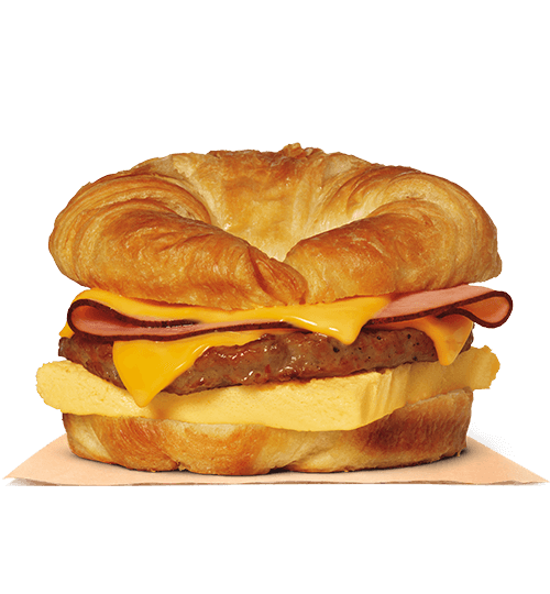 Double CROISSAN'WICH® with Ham & Sausage