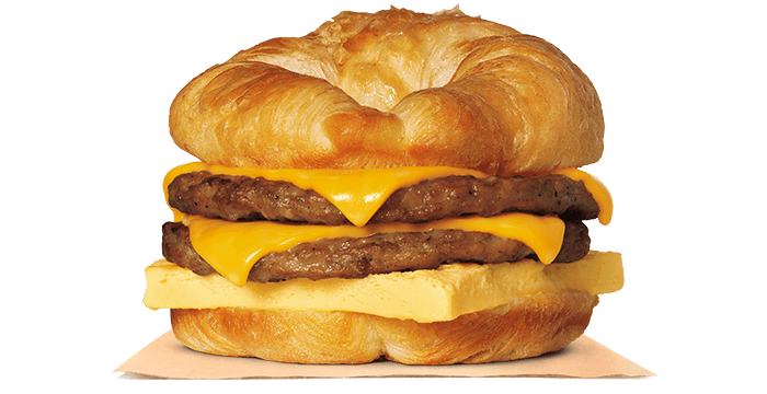 Double CROISSAN'WICH® with Sausage