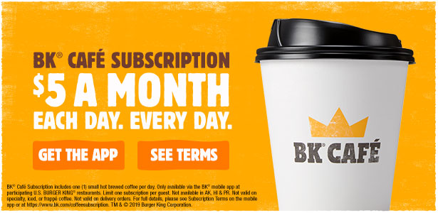 BK Café Subscription