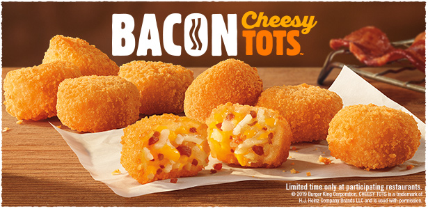 Bacon Cheesy Tots