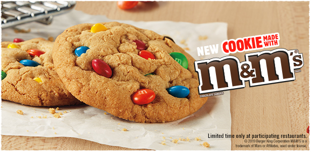 Cookie Made With M&M'S® Chocolate Candies