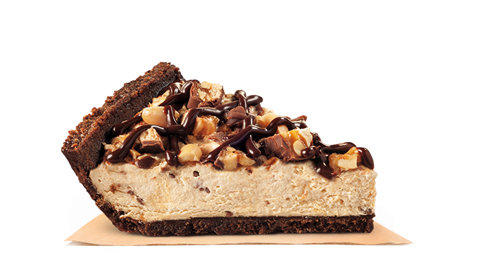 Pie made with SNICKERS®