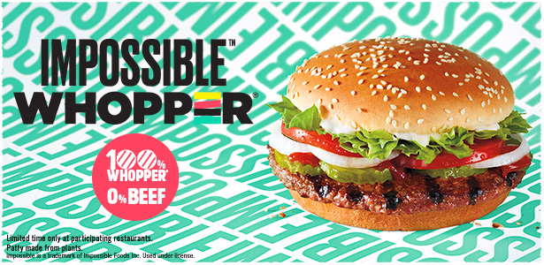 Impossible WHOPPER banner