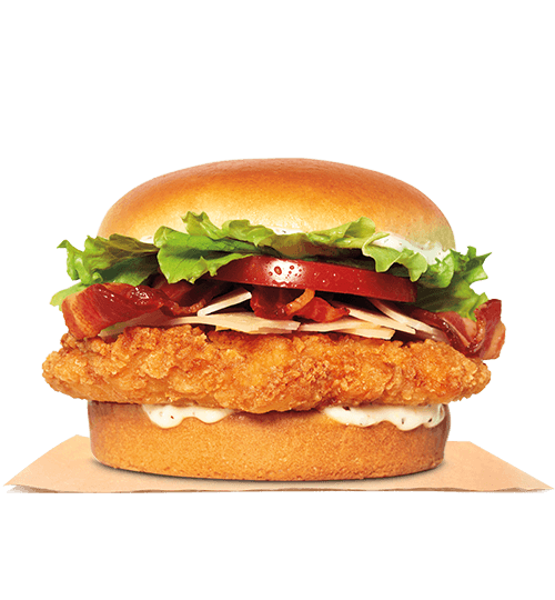 Chicken Caesar Sandwiches. Spicy chicken, grilled chicken or crispy chicken. Limited time only at participating restaurants.©2019 Burger King Corporation.